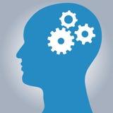 Gear head vector illustration