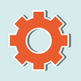 Gear icon  design. Vector illustration eps10 graphic Royalty Free Stock Photography