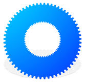 Gear icon, gear symbol for maintenance, repair or development co Royalty Free Stock Images