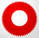 Gear icon, gear symbol for maintenance, repair or development co Royalty Free Stock Photos