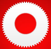 Gear icon, gear symbol for maintenance, repair or development co Royalty Free Stock Photography