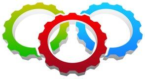 Gear icon, gear symbol for maintenance, repair or development  Stock Photo