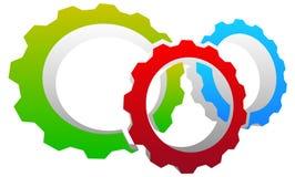 Gear icon, gear symbol for maintenance, repair or development   Stock Image