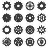 Gear icon set Stock Image