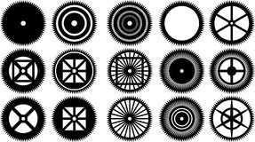 Gear icon  vector illustration, Royalty Free Stock Photo