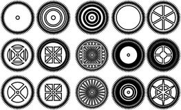 Gear icon  vector illustration, Royalty Free Stock Photography