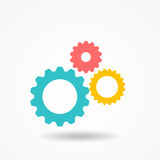 Gear Icon Vector Illustration Royalty Free Stock Images