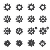 Gear icon Royalty Free Stock Photos