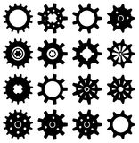vector gear icons Stock Image