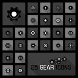 Gear icons concepts Stock Photography