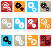Gear icons Stock Image
