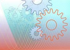 Gear-illustration Stock Photography