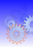 Gear-illustration Royalty Free Stock Image