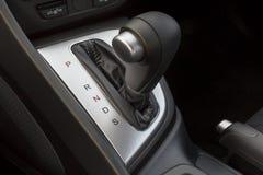 Gear knob. Car automatic transmission gear knob Stock Image