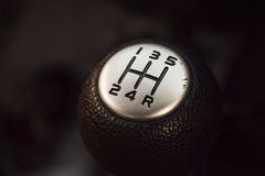 Gear knob manual Royalty Free Stock Image