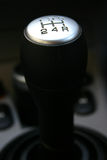 Gear lever. A manual shift gear lever Stock Images