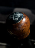 Gear lever. The transmission lever.Element of design royalty free stock images