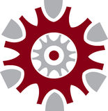 Gear logo Stock Photography