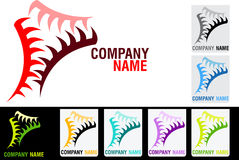 Gear logo Royalty Free Stock Images