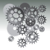 Gear machine Royalty Free Stock Photography