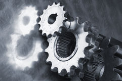 Gear-machinery Royalty Free Stock Image