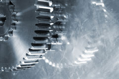 Gear-machinery abstract Royalty Free Stock Photo