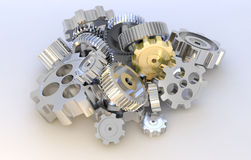 Gear machinery Royalty Free Stock Images