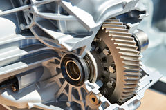 Gear of main drive in automatic transmission. In section Royalty Free Stock Photography