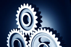 Gear. Manufacturing, Details- 3 Machinery Gear Royalty Free Stock Image