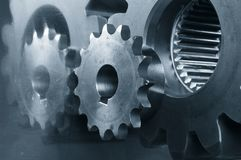 Gear maxhinery close-ups