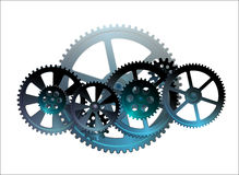 Gear mechanical Stock Photo