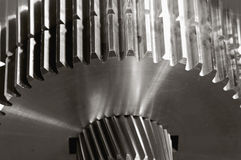 Gear-mechanics with duplex-effect Royalty Free Stock Photography