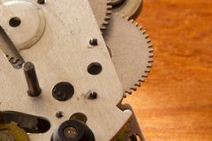 Gear Mechanism Royalty Free Stock Image