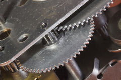 Gear Mechanism Stock Photo