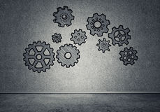 Gear mechanism as teamwork concept Royalty Free Stock Photography