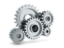 Gear mechanism Royalty Free Stock Photos