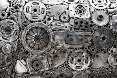 Gear metal background. Gear metal abstract texture background Stock Images