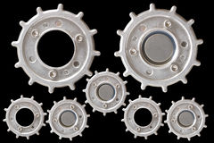 Gear Metal pieces Stock Photo