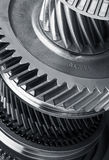 Gear metal wheels Stock Photo