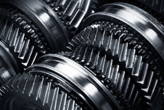 Gear metal wheels Stock Photography