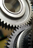 Gear metal wheels Royalty Free Stock Photo