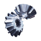 Gear metal wheels Stock Photos