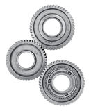 Gear metal wheels Stock Photos