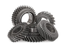 Gear metal wheels Stock Photography