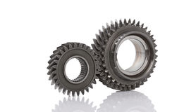 Gear metal wheels Royalty Free Stock Photography