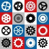 Gear mosaic Stock Photos