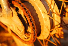 Gear of motorcycle Stock Image