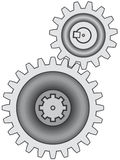 Gear pair Stock Photography