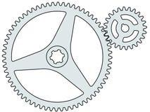 Gear pair Stock Image