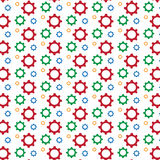 Gear pattern background Stock Photography